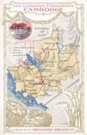 Asie. N° 103174 .cambodge .les Colonies Francaises .chocolat Aiguebelle.pub - Cambodia