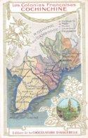 Asie. N° 103175 .viet Nam .les Colonies Francaises .chocolat Aiguebelle.pub - Vietnam