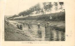 CHAUMONT  La Peche Du Canal A LUZY - Chaumont