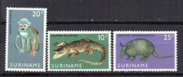 Serie Nº 496/8 Suriname - Sellos