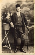 Photo Postcard - Anonymous Persons - Macedonia Men - Anonymous Persons