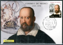 ITALIA / ITALY 2019 - Cosimo De' Medici - Maximum Card Come Da Scansione - Cartes-Maximum (CM)