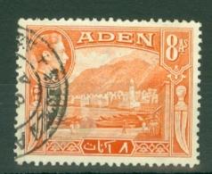 Aden: 1939/49   KGVI    SG23   8a     Used - Aden (1854-1963)