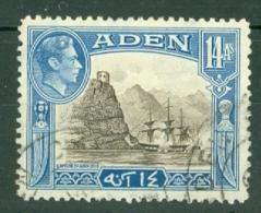 Aden: 1939/49   KGVI    SG23a   14a     Used - Aden (1854-1963)