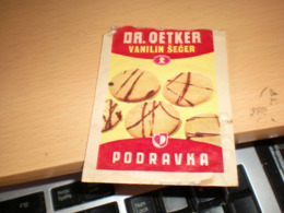 Dr Oetker Podravka Vanilin Secer  Vanilla Sugar - Zucchero (bustine)