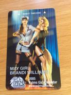 Hotelkarte Room Key Keycard Clef De Hotel Tarjeta Hotel PALMS LAS VEGAS MAY GIRL - Telefonkarten
