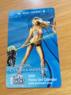 Hotelkarte Room Key Keycard Clef De Hotel Tarjeta Hotel PALMS LAS VEGAS JUNE GIRL - Telefonkarten