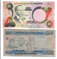 Nigeria 1 + 50 Naira  LOTTO 151 - Nigeria