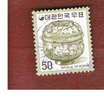 COREA  DEL SUD (SOUTH KOREA)   - SG 1068a  -     1973 CERAMIC JAR      - USED ° - Corea Del Sur