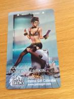 Hotelkarte Room Key Keycard Clef De Hotel Tarjeta Hotel PALMS LAS VEGAS JULY GIRL - Telefonkarten
