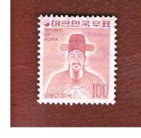 COREA  DEL SUD (SOUTH KOREA)   - SG 1069a  -     1975  ADMIRAL SUN-SIN     - USED ° - Corea Del Sud