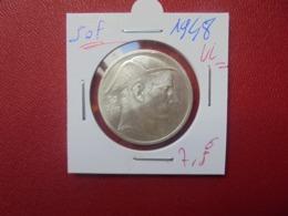 Régence :50 FRANCS ARGENT 1948 VL BELLE QUALITE (A.10) - 05. 50 Francs