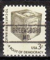 USA Precancel Vorausentwertung Preo, Locals Maryland, Greensboro 734 - Vereinigte Staaten