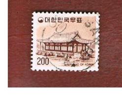 COREA  DEL SUD (SOUTH KOREA)   - SG 1069b  -     1977 MURYANGSU-JEON HALL    - USED ° - Corea Del Sud