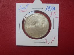 Régence :50 FRANCS ARGENT 1951 FR BELLE QUALITE (A.10) - 05. 50 Francs