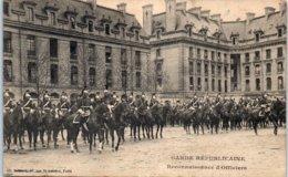 75 PARIS - Garde Républicaine - Reconnaissance D'officiers Edition Ch. Debrock - France