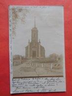 Carte Photo Leers Et Fosteau 1902 L'église - Thuin