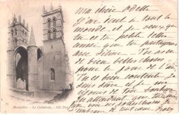 FR34 MONTPELLIER - ND 14 - Précurseur - La Cathédrale - Montpellier