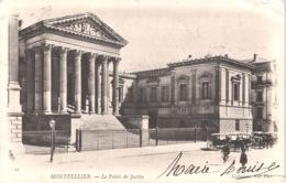 FR34 MONTPELLIER - ND 21 - Précurseur - Le Palais De Justice - Animée - Belle - Montpellier