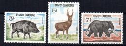 Serie Nº 184/6 Camboya - Sellos
