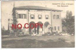 Crespellano, Bologna, 1910, Pragatto, Villa Beccadelli. Autografa Camilla Beccadelli. - Bologna
