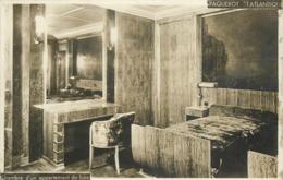 PAQUEBOT - L'atlantique, Chambre D'un Appartement De Luxe.(carte Photo) - Paquebots