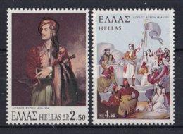 Griekenland - 150. Todestag Von Lord Byron - MNH - M 1164-1165 - Ongebruikt