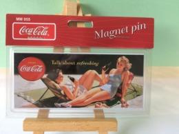 Plaque Magnet Pin - Coca-Cola - Neuf - Coca-Cola