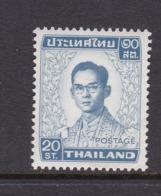 Thailand SG 699 1972 King Bhumipol 20 Satangs  Perf 13x 13.5 MNH - Thailand