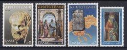 Griekenland - 2300. Todestag Von Aristoteles - MNH - M 1316-1319 - Ongebruikt