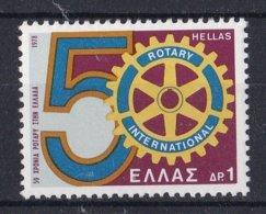 Griekenland - 50 Jahre Griechischer Rotary-Club - MNH - M 1320 - Ongebruikt
