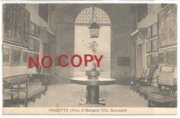 Crespellano, Bologna, 21.10.1907, Pragatto, Interno Di Villa Beccadelli. Autografa Camilla Beccadelli. - Bologna