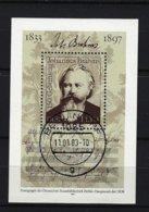 DDR - Block Mi-Nr. 69 - 150. Geburtstag Von Johannes Brahms Gestempelt BERLIN - [6] República Democrática