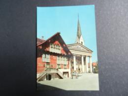19988) VORALBERG DORNBIRN ROTES HAUS MIT KIRCHEVIAGGIATA - Dornbirn