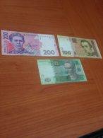 UKRAINE -LOT  De 3 Billets  TTB   ( Port Offert ) - Ukraine