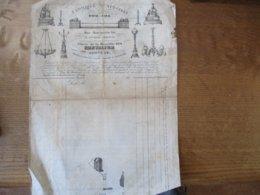 PARIS APPAREILS DE CHEVALIER FABRIQUE SPECIALE RUE MONTMARTRE 140 PLACE DE LA BASTILLE 232 MEDAILLE D'OR 1837-1838 - Publicités