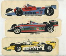 3 Stickers, F1, Formula 1, Motorsport, Car, Renault, Lotus, McLaren - Autocollants