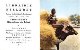PIE.Z.19-PF.T-1143 : CALENDRIER  1963 LIBRAIRIE BILLERET. FORT-LAMY. TCHAD. - Petit Format : 1961-70