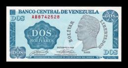 Venezuela 2 Bolivares 1989 Pick 69 SC UNC - Venezuela