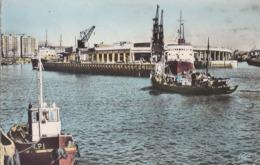 FRANCE - Boulogne-sur-Mer 1958 - L'Entree Du Port Et La Gare Maritime - Boulogne Sur Mer
