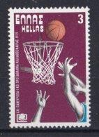 Griekenland - Basketball-Europameisterschaft - MNH - M 1356 - Ongebruikt