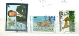 CAMEROUN OB     716  784  798 - Camerun (1960-...)