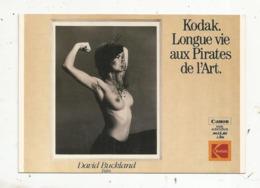 Cp, Publicité , KODAK , Photo David Buckland, Kodack. Longue Vie Aux Pirates D'art ,vierge - Werbepostkarten