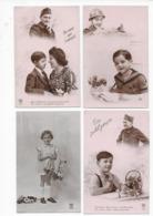 Lot De 2500 CPA Fantaisies Femmes, Enfants, Hommes, Couples... - Cartes Postales