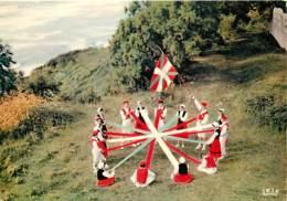 64 - Saint Jean De Pied De Port - Folklore Basque - Zinta Daniza - Garaztarrak - Danse Basque - Vue Générale Aérienne - - Saint Jean Pied De Port