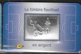 France 2010 Timbre Adhésif N° 430 Neuf Football En Argent à La Faciale - France