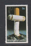 South Africa-Bophuthatswana SG 55 1979 Antismoking Campaign,Mint Never Hinged - Bophuthatswana