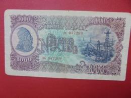 ALBANIE 1000 LEKE 1949 CIRCULER (B.3) - Albanië