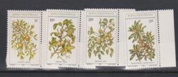 South Africa-Bophuthatswana SG 56-59 1980 Edible Wild Fruits,Mint Never Hinged - Bophuthatswana