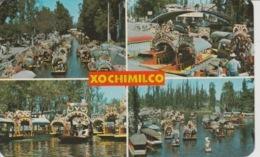 19 / 9 / 349.  - XOCHIMILCO. ( MEXIQUE  )  4. DIFFÉRENTS  ASPECTS  DES. JARDINS  FLOTANTS - Mexique